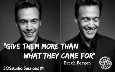 "1: ""Give Them More Than What They Came For"" with Erich Bergen"