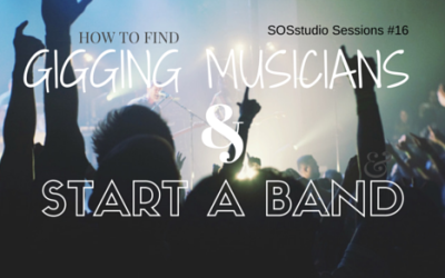 16: How to Meet Gigging Musicians and Start a Band