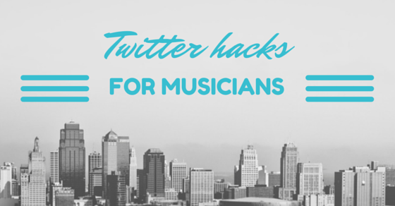 Twitter Hacks for Musicians - SOSstudio