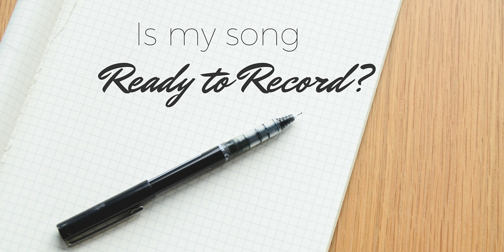 Twitter Is my song ready to record-