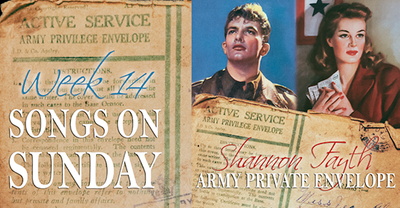 "Week 14 – ""Army Private Envelope"" by Shannon Fayth"