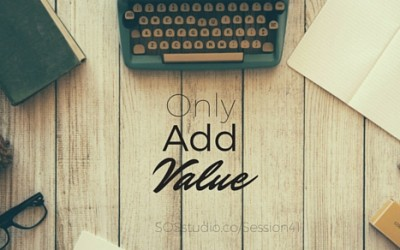 41: Only Add Value with Rob Lott