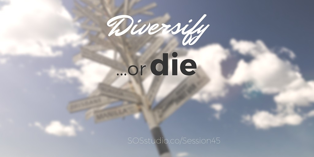 Diversify or die with Michael Traynor of The Walking Dead SOSstudio.co-session45