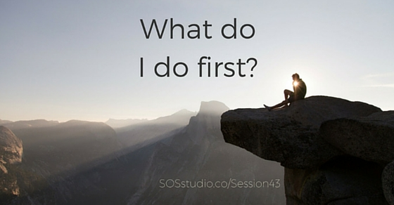 43: What do I do first? The art of achieving goals.