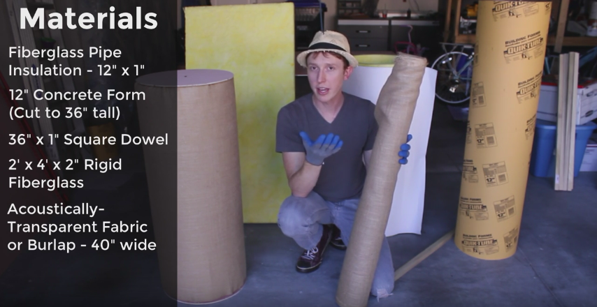 DIY Tube Traps: The Best Acoustic Treatment for Your Studio