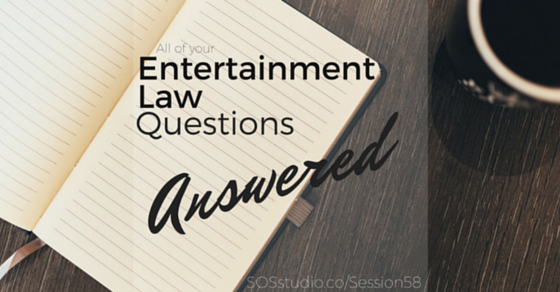 Your Entertainment Law Questions Answered by Player Law (Episode 58)